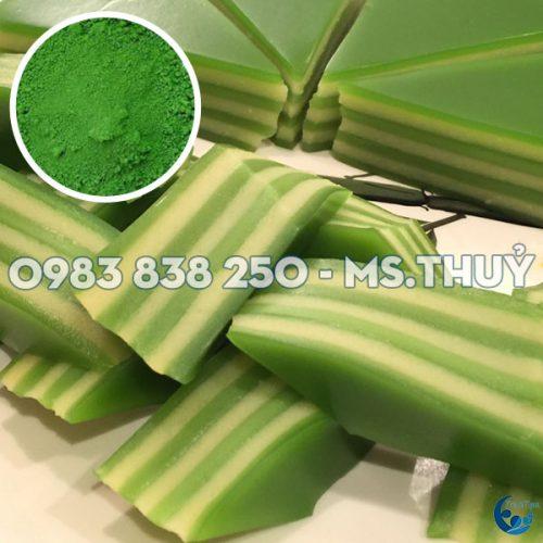 Bột Màu Thực Phẩm Xanh Lá Đậu (Pea Green)