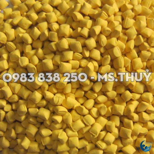 Hạt Nhựa Màu Vàng