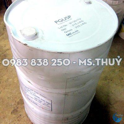 Propylen Glycol Hàn Thùng 215kg