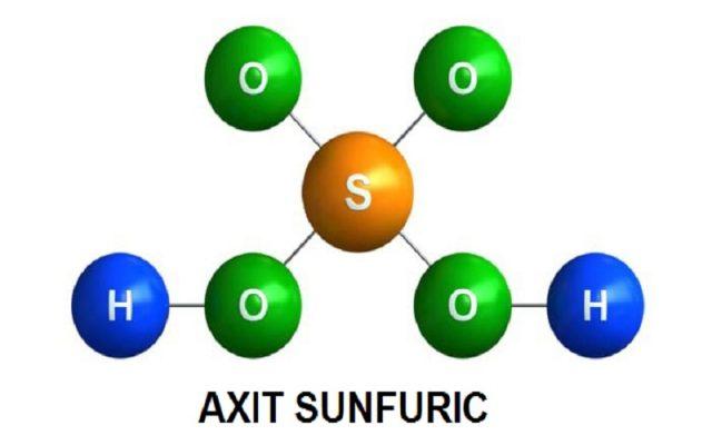 Axit Sunfuric Là Gì