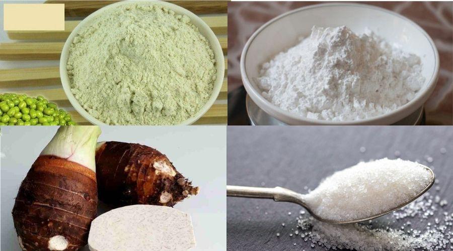 Cách Làm Bánh Màu Tím Khoai Môn Nguyên Liệu 2