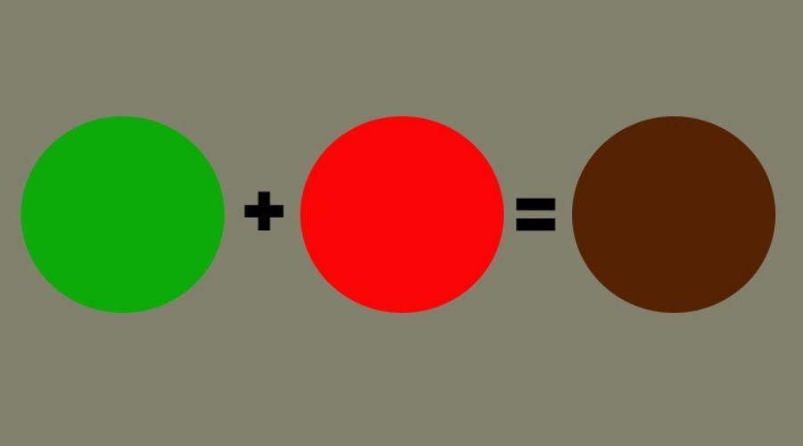 Cách Pha Màu Thực Phẩm Nâu 2