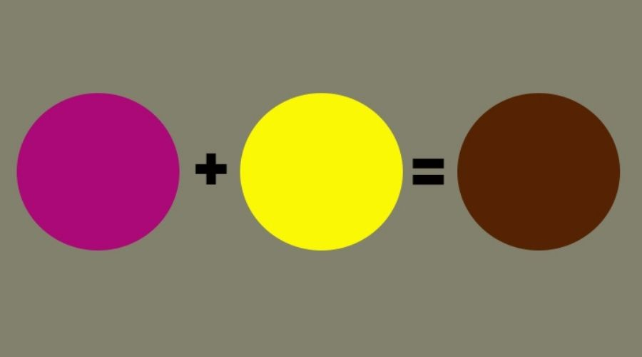 Cách Pha Màu Thực Phẩm Nâu 3