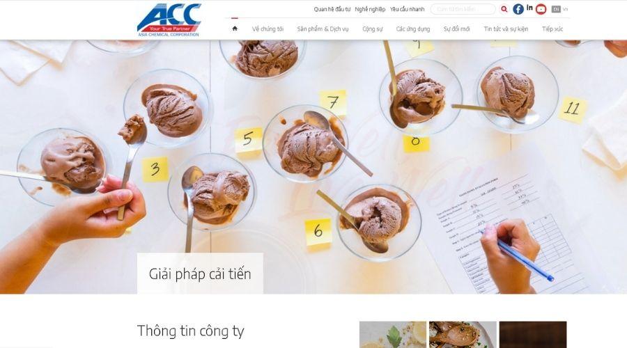 Công Ty Cổ Phần Hóa Chất Á Châu (ACC)