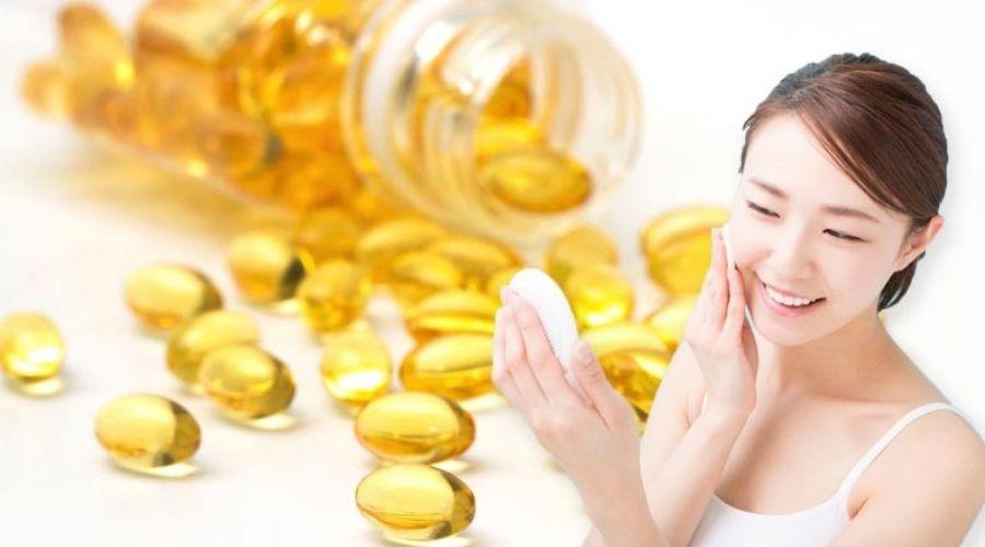 Vitamin E Hỗ Trợ Làn Da