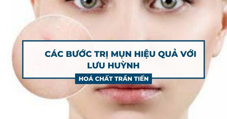 Lưu Huỳnh Trị Mụn