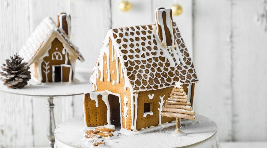 Nhà Bánh Gừng Mùa Giáng Sinh