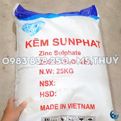 Kẽm Sulfate Việt Nam