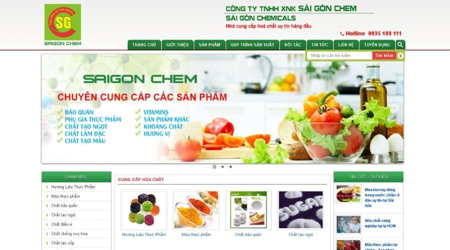 Công Ty TNHH Xuất Nhập Khẩu Sài Gòn Chem