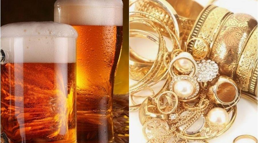 Đánh Bóng Trang Sức Bia