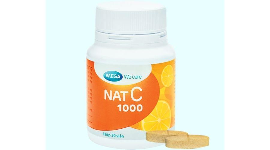 Thuốc Vitamin C Nat C