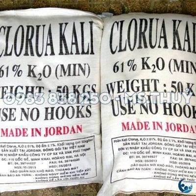 Kali Clorua Jordan