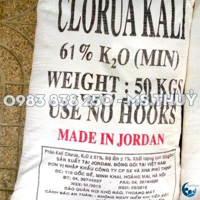 Potassium Chloride Jordan