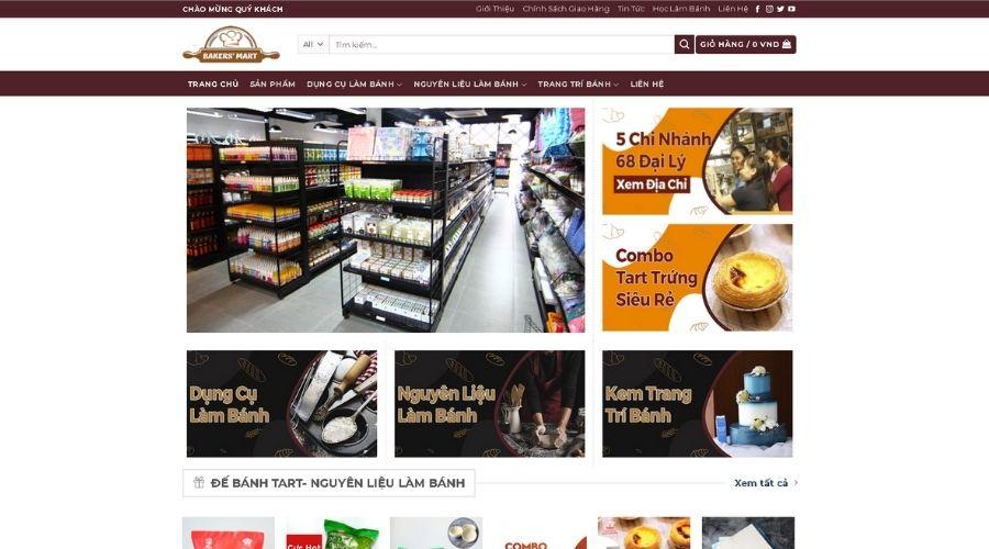 Siêu Thị Bakers' Mart Nhất Hương