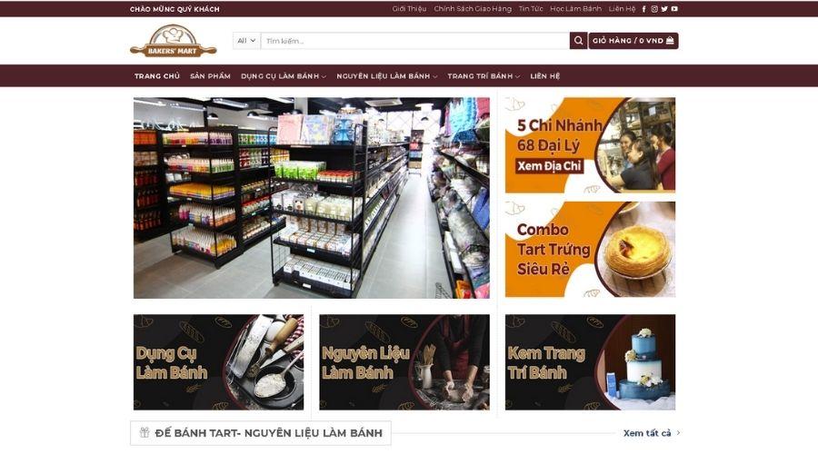 Siêu Thị Dụng Cụ Làm Bánh Bakers' Mart Nhất Hương