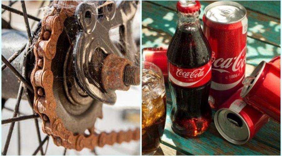 Tẩy Rỉ Sét Bằng Coca Cola Tác Dụng
