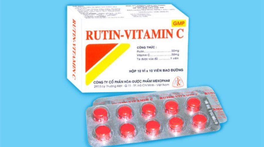 Viên Uống Vitamin C Rutin