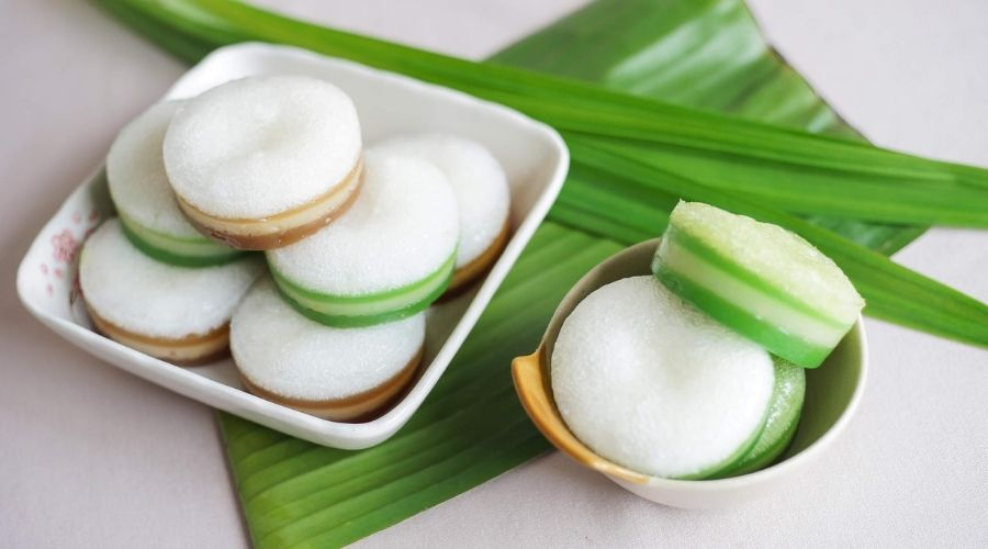 Bánh Bò Hương Lá Dứa