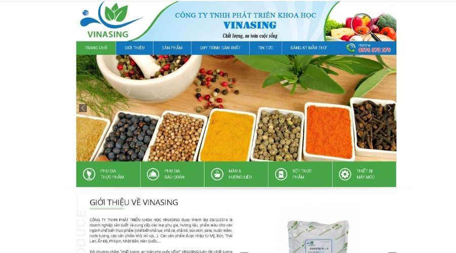 Công Ty TNHH Phát Triển Khoa Học Vinasing